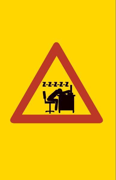 Varoitus työuupumuksen uhka