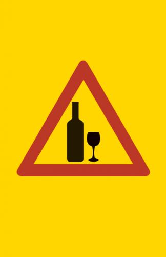 Varoitus viiniä