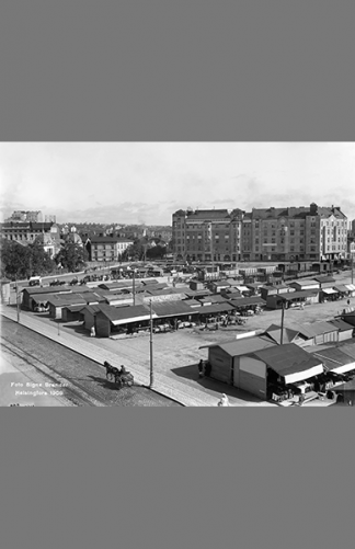 Hakaniementori 1909 – Signe Brander / Helsingin kaupunginmuseo