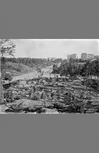 Fleminginkatu-Helsinginkatu 1911 – Signe Brander / Helsingin kaupunginmuseo