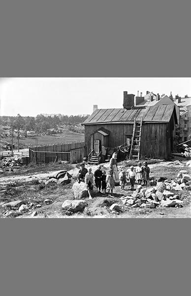 Vaasankatu 2 1911 – Signe Brander / Helsingin kaupunginmuseo