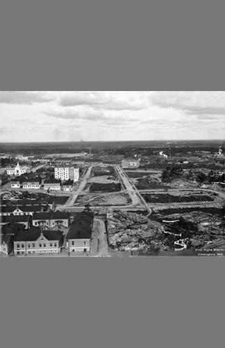 Brahenkenttä 1912 – Signe Brander / Helsingin kaupunginmuseo