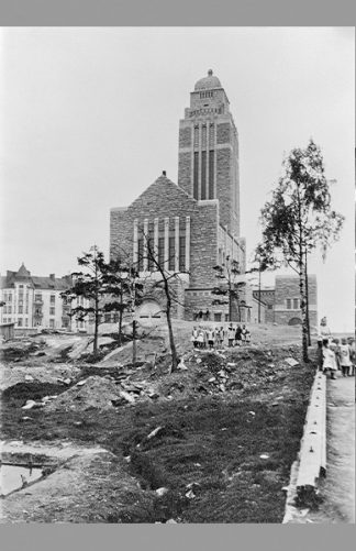Kallion kirkko 1912