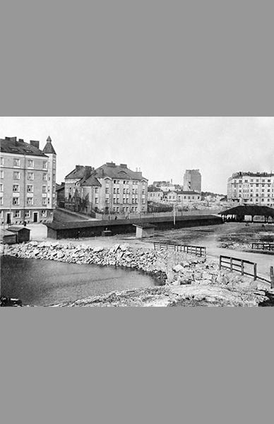 Helsinginkatu 3-5 1919 – Tuntematon / Helsingin kaupunginmuseo