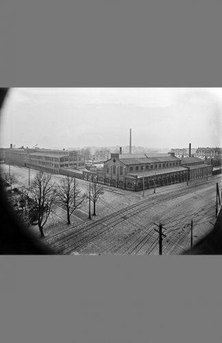 Hämeentie 7–9 1920 – Eric Sundström / Helsingin kaupunginmuseo