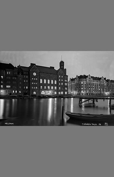 Säästöpankinranta 1925 – Kalle Havas / Helsingin kaupunginmuseo