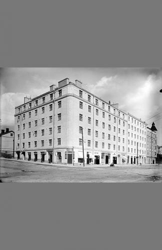 Helsinginkatu 11 1927 – Eric Sundström / Helsingin kaupunginmuseo
