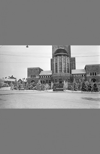 Kallion kirkko 1930 – Hannes Mustakallio / Helsingin kaupunginmuseo