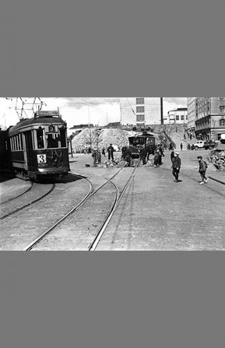 Helsinginkatu-Kaarlenkatu 1941 – Väinö Kannisto / Helsingin kaupunginmuseo