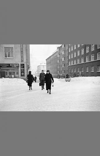 Fleminginkatu–Franzeninkatu 1942 – Väinö Kannisto / Helsingin kaupunginmuseo