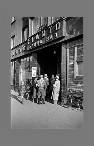 Elannon sauna 1950 – Eino Heinonen / Helsingin kaupunginmuseo