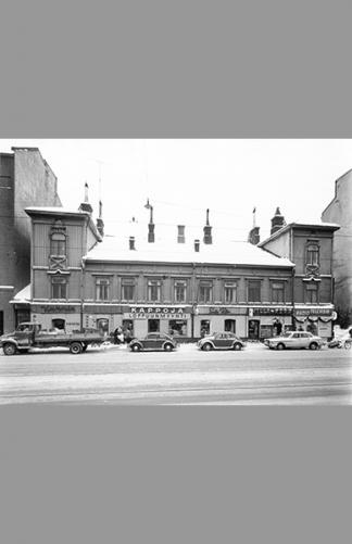 Hämeentie 3 1966 – B. Möller / Helsingin kaupunginmuseo