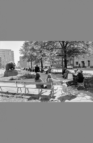 Karhupuisto 1970 – Eeva Rista / Helsingin kaupunginmuseo