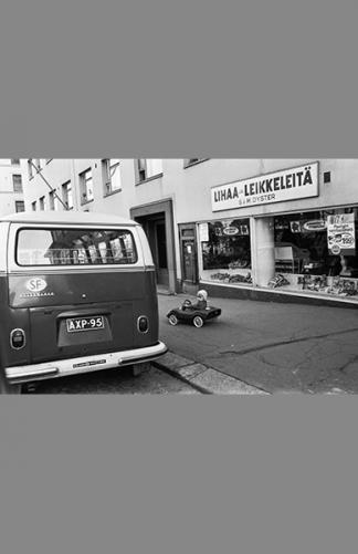Neljäs linja 1970 – Simo Rista / Helsingin kaupunginmuseo