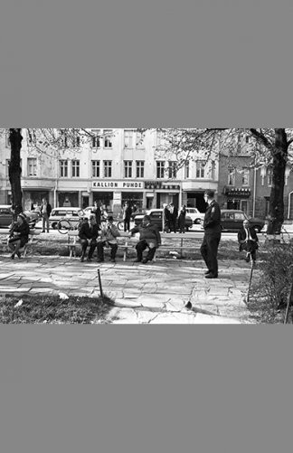 Agricolankatu 1970 – Simo Rista / Helsingin kaupunginmuseo