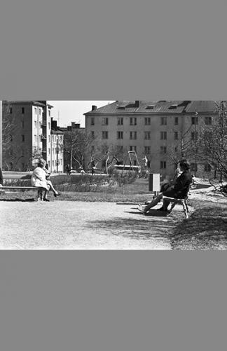 Torkkelinpuistikko 1970 – Simo Rista / Helsingin kaupunginmuseo