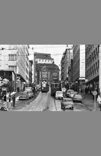 Porthaninkatu 1970 – Simo Rista / Helsingin kaupunginmuseo
