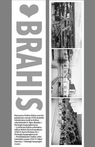 Kirjanmerkki Brahis @ Signe Brander, Aarne Pietinen Oy, Väinö Kannisto / Helsingin kaupunginmuseo