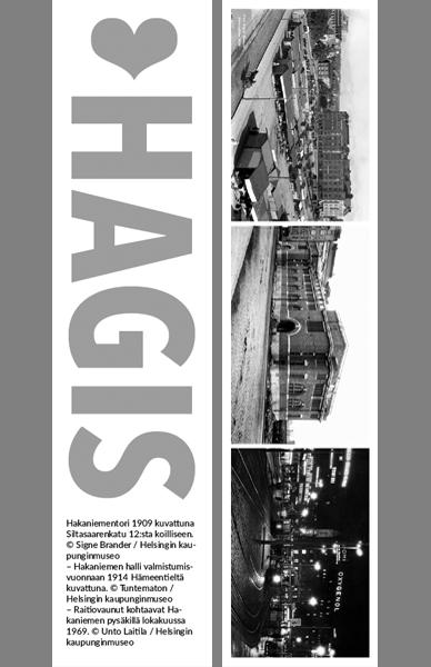 Kirjanmerkki Hagis © Signe Brander, Tuntematon, Unto Laitila / Helsingin kaupunginmuseo