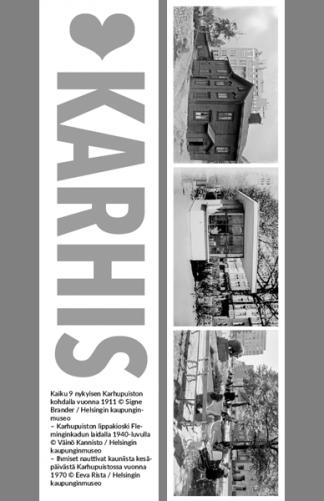 Kirjanmerkki Karhis @ Signe Brander, Väinö Kannisto, Eeva Rista / Helsingin kaupunginmuseo