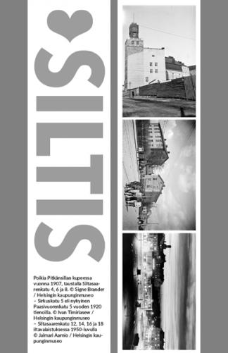 Kirjanmerkki Siltis @ Signe Brander, Ivan Timiriasew, Jalmari Aarnio / Helsingin kaupunginmuseo