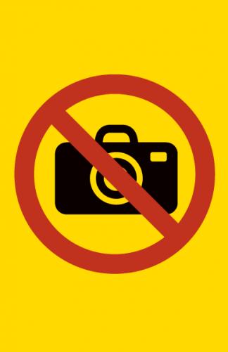 Kielletty valokuvaus