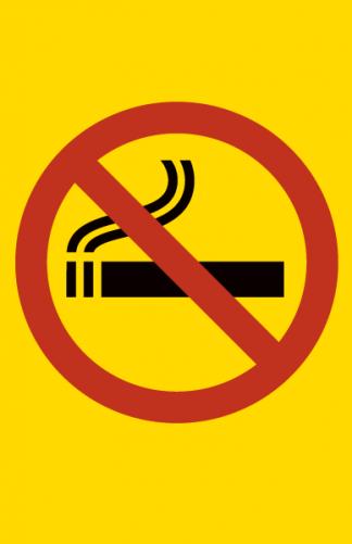 Kielletty tupakointi