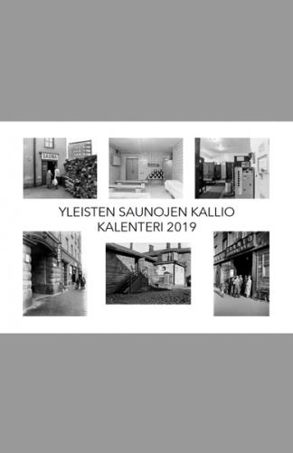 Yleisten saunojen Kallio -kalenteri 2019