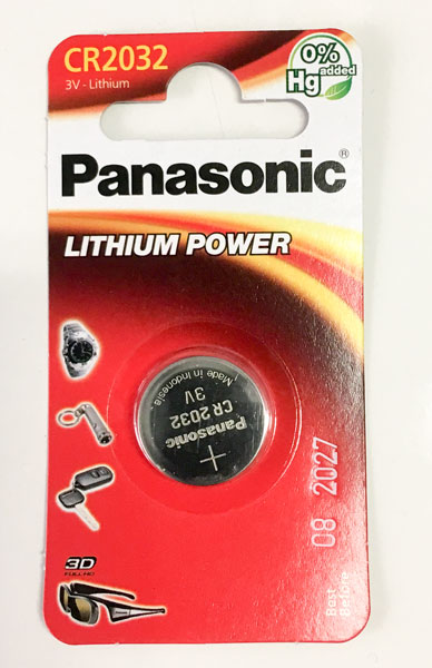 CR2032 Panasonic
