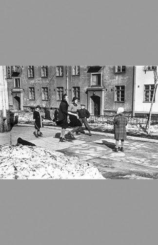 Torkkelinkadun pihaleikit 1940