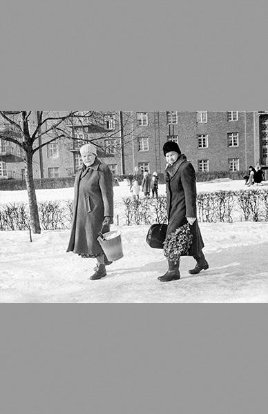 Naisten saunamatka 1958