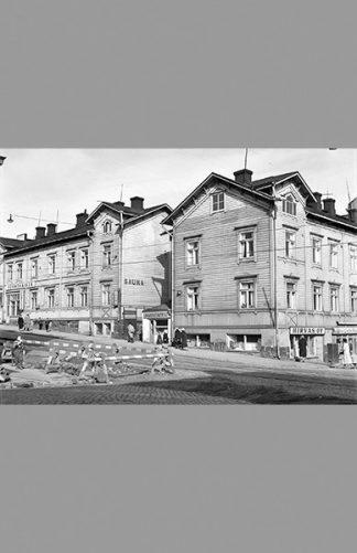Porthaninkatu–Neljäs linja 1957